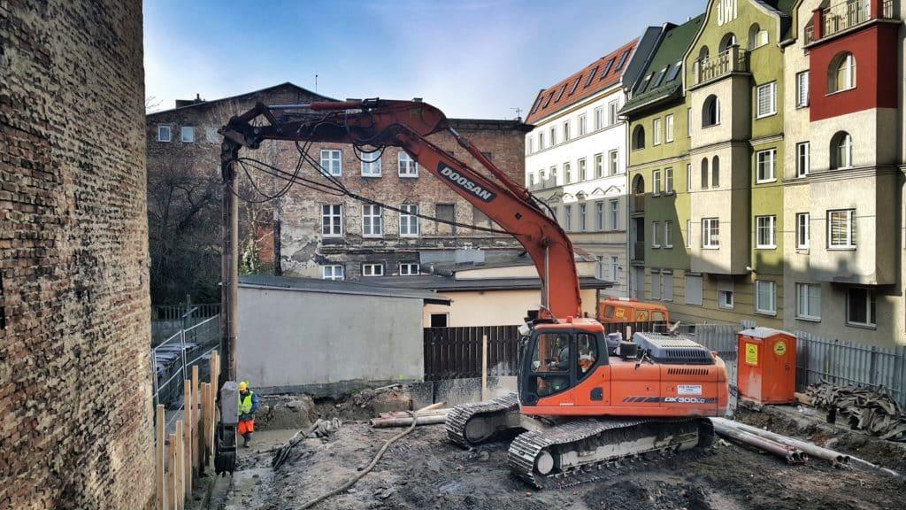 Moryson Development Rybaki 1 Ściany szczelinowe